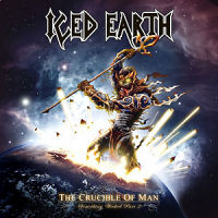 [Iced Earth The Crucible Of Man: Something Wicked Part 2 Album Cover]