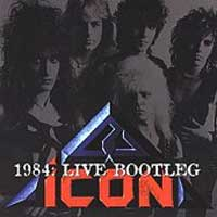 [Icon Live Bootleg Album Cover]
