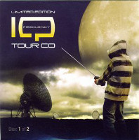 [IQ Frequency Tour CD 1 and 2 Album Cover]