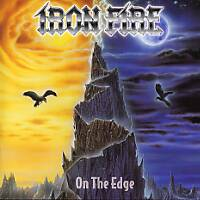 [Iron Fire On the Edge Album Cover]