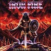 [Iron Fire Thunderstorm Album Cover]