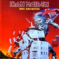 [Iron Maiden BBC Archives Album Cover]