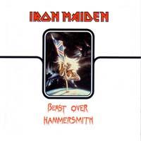 [Iron Maiden Beast Over Hammersmith Album Cover]
