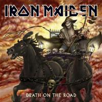 [Iron Maiden Death On The Road Album Cover]