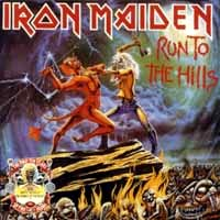 [Iron Maiden Run to the Hills / The Number of the Beast Album Cover]
