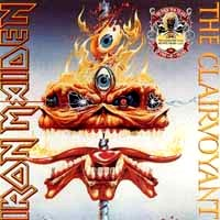 [Iron Maiden The Clairvoyant / Infinite Dreams Album Cover]