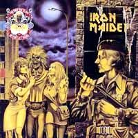[Iron Maiden Women in Uniform / Twilight Zone Album Cover]