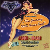 [Jaded Heart The Journey Will Never End Album Cover]