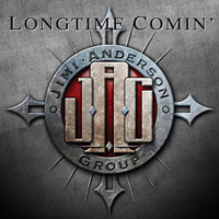 [Jimi Anderson Groupo Long Time Comin' Album Cover]