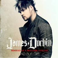 [James Durbin Memories of a Beautiful Disaster Album Cover]