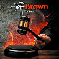 Jeff Brown 23 Years Album Cover