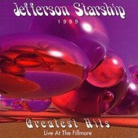 Jefferson Starship Greatest Hits - Live At The Fillmore Album Cover