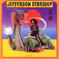 Jefferson Starship Spitfire Album Cover