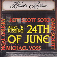 Jeff Scott Soto 24th Of June - Alive 'N Kissing Album Cover