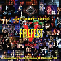 [Jeff Scott Soto Live at Firefest 2008 Album Cover]