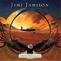 [Jimi Jamison Never Too Late Album Cover]