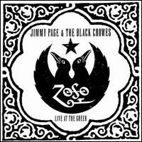 [Jimmy Page and The Black Crowes Live At The Greek: Excess All Areas Album Cover]