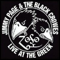 Jimmy Page and The Black Crowes Live At The Greek: Excess All Areas Album Cover