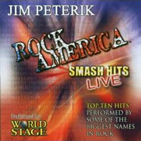 Jim Peterik and World Stage Rock America - Smash Hits Live Album Cover