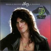 [The Joe Perry Project Once A Rocker, Always A Rocker Album Cover]