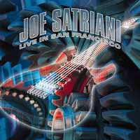 [Joe Satriani Live in San Francisco Album Cover]