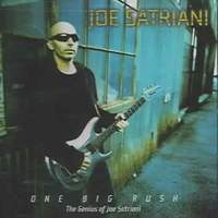 Joe Satriani One Big Rush (The Genius of Joe Satriani) Album Cover