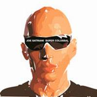 [Joe Satriani Super Colossal Album Cover]