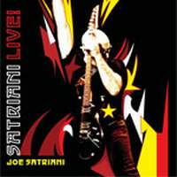 [Joe Satriani Satriani LIVE Album Cover]