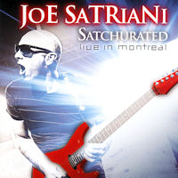 [Joe Satriani Satchurated: Live In Montreal Album Cover]