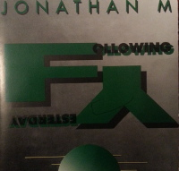 Jonathan M Following Yesterday Album Cover