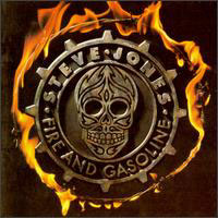 [Steve Jones Fire and Gasoline Album Cover]