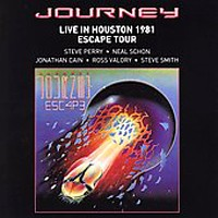 [Journey Live in Houston Album Cover]