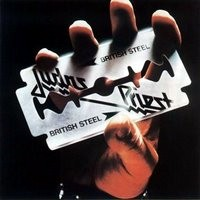 [Judas Priest British Steel Album Cover]
