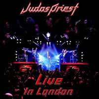 [Judas Priest Live In London Album Cover]