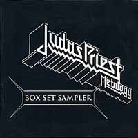 [Judas Priest Metalogy Box Set Sampler Album Cover]