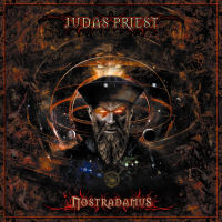 [Judas Priest Nostradamus Album Cover]