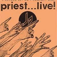 [Judas Priest Priest...Live! Album Cover]