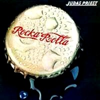 [Judas Priest Rocka Rolla Album Cover]
