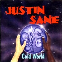 [Justin Sane Cold World Album Cover]