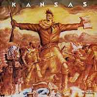 Kansas Kansas Album Cover