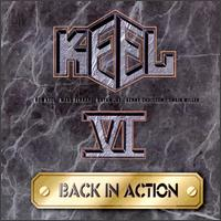 Keel Back In Action Album Cover