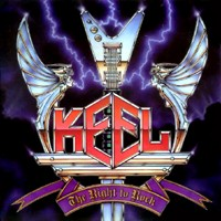 [Keel The Right to Rock Album Cover]