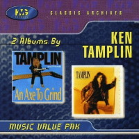 [Ken Tamplin An Axe to Grind / Soul Survivor Album Cover]