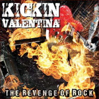 Kickin' Valentina The Revenge of Rock Album Cover