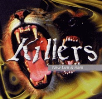 [Killers New Live and Rare Album Cover]