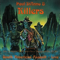 [Killers South American Assault Live Album Cover]
