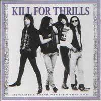 [Kill for Thrills Dynamite From Nightmareland Album Cover]