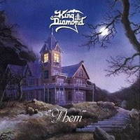 [King Diamond Them Album Cover]