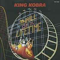 [King Kobra Thrill of a Lifetime Album Cover]