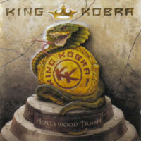 [King Kobra Hollywood Trash Album Cover]